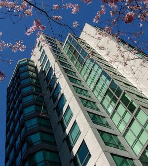 兰蒂斯套房酒店 - 温哥华 - 建筑