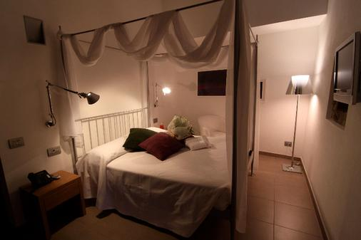 圣罗科酒店 - 贝加莫 - 睡房