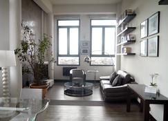 Haut Lofts Luxury Sky Concept - Toulouse Centre Ramblas - 图卢兹 - 客厅