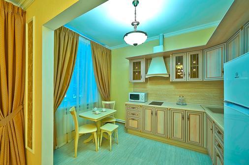 斯何瑞梅特弗斯克公园-酒店 - 莫斯科 - 厨房