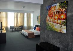 康提阿玛瑞天空酒店 - 康提 - 睡房