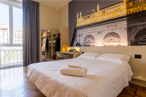 热那亚酒店 - 热那亚 - 睡房