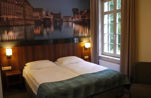 尼普顿公寓酒店 - 格但斯克 - 睡房