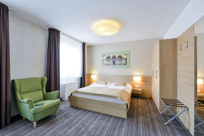 卢布尔雅那奥戴尔酒店 - 卢布尔雅那 - 睡房