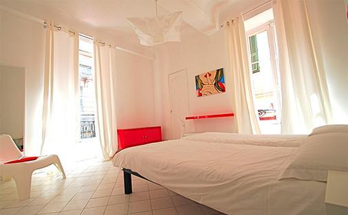 尼斯艺术酒店 - 尼斯 - 睡房