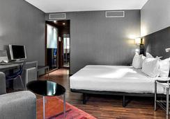 蒙特瑞尔酒店 - 马德里 - 睡房