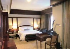 老挝广场酒店 - 万象 - 睡房