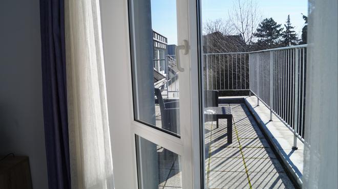 阿斯特里亚城市酒店 - 埃森 - 阳台