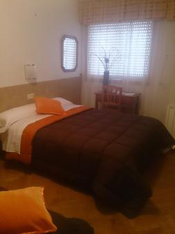 圣克乐拉旅馆 - 拉科鲁尼亚 - 睡房