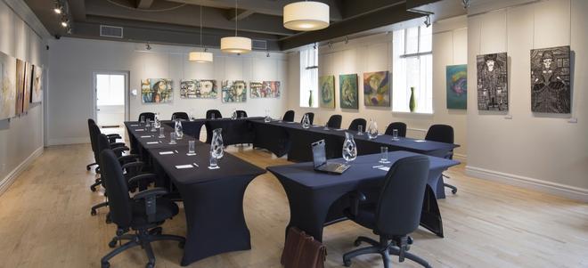 乐圣皮埃尔酒店 - 魁北克市 - 会议室