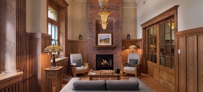 乐圣皮埃尔酒店 - 魁北克市 - 客厅