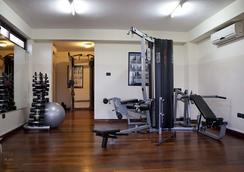 机场东橡树广场酒店 - 阿克拉 - 健身房