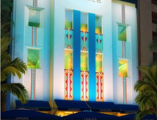南海滩骑士酒店 - 迈阿密海滩 - 建筑