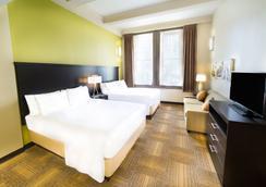 斯泰布里奇套房酒店-巴尔的摩内港 - 巴尔的摩 - 睡房