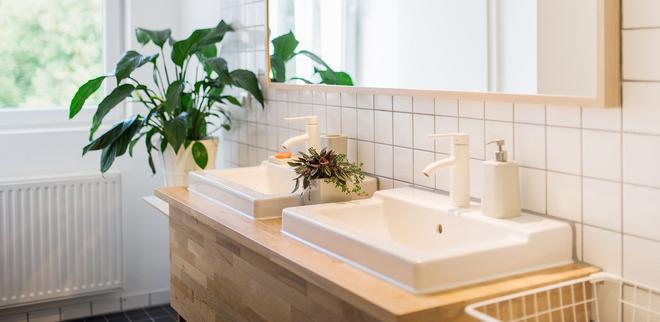 柏林施普雷埃森提斯生态会议酒店 - 柏林 - 浴室
