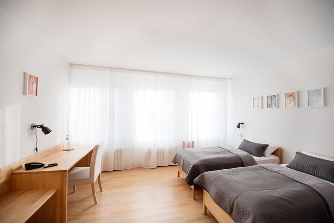柏林施普雷埃森提斯生态会议酒店 - 柏林 - 睡房