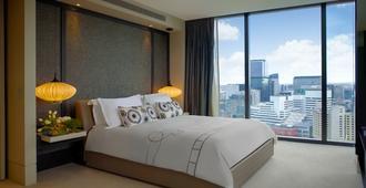 皇冠大都市酒店 - 墨尔本 - 睡房