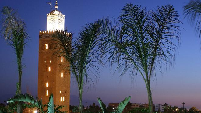 勒斯加丁斯德拉库图比亚酒店 - 马拉喀什 - 户外景观