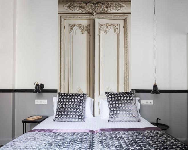 马尔特阿斯托特尔酒店 - 巴黎 - 睡房