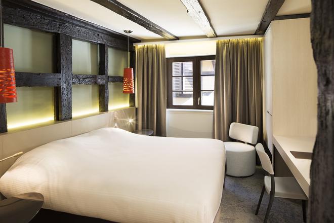 格伦比尔酒店 - 科尔马 - 睡房