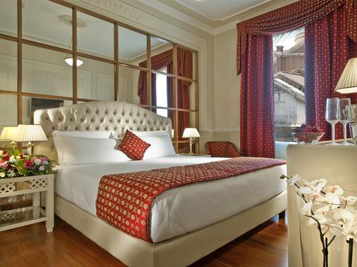 丽嘉大酒店 - 罗马 - 睡房
