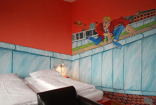 阿特路易斯库申酒店 - 柏林 - 睡房