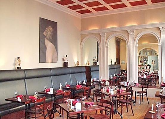 阿特路易斯库申酒店 - 柏林 - 餐馆