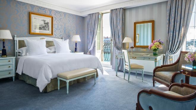 日内瓦贝尔格四季酒店 - 日内瓦 - 睡房