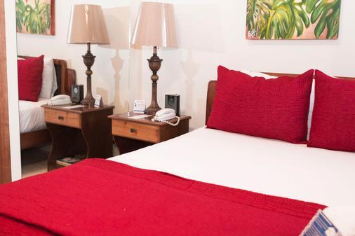 邓恩酒店 - 圣荷西 - 睡房