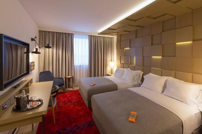 萨格勒布市中心希尔顿酒店 - 萨格勒布 - 睡房