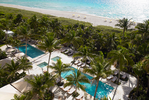海滩大酒店 - 迈阿密海滩 - 户外景观