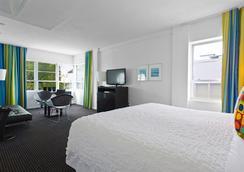 阿尔比恩酒店 - 迈阿密海滩 - 睡房