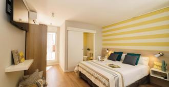 枕头旅馆 - 巴塞罗那 - 睡房