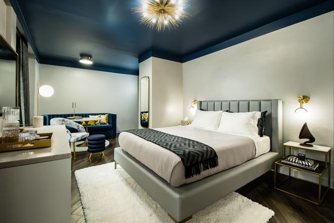 纽约东区华美达酒店 - 纽约 - 睡房