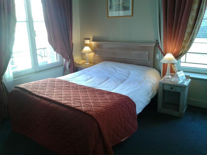 萨克莱雷姆布里特酒店 - 兰斯 - 睡房