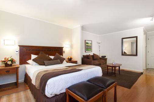 坎比亚索公寓酒店 - 圣地亚哥 - 睡房