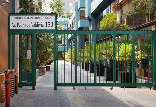 坎比亚索公寓酒店 - 圣地亚哥 - 建筑