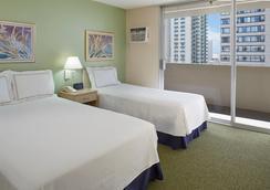 威基基国宾大酒店 - 檀香山 - 睡房