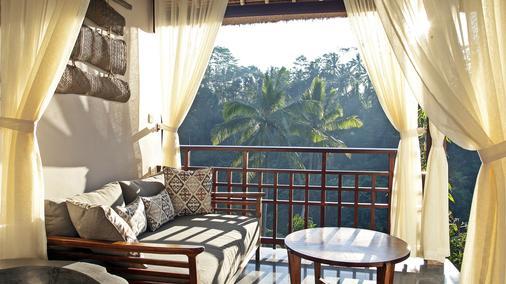 特加帕拉水疗度假酒店 - 乌布 - 阳台