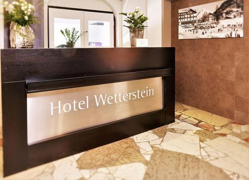 韦特施泰因登酒店 - 蒂罗尔州塞弗尔德 - 柜台