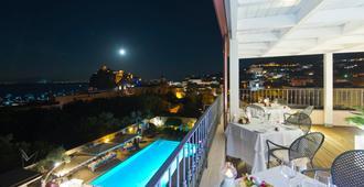 都尔耶里度假村及水疗中心别墅酒店 - 伊斯基亚 - 餐馆
