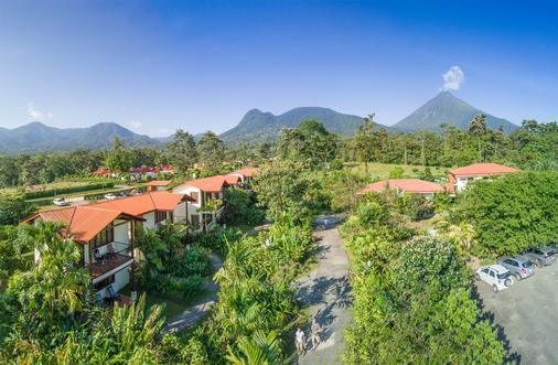 卡萨露娜Spa酒店 - La Fortuna - 户外景观