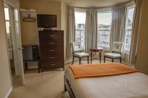 卡萨洛玛酒店 - 旧金山 - 客厅