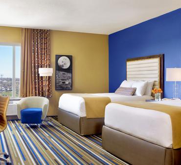 月升酒店 - 圣路易斯 - 睡房