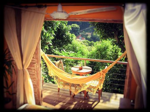 加沃热带精品酒店 - 里约热内卢 - 阳台