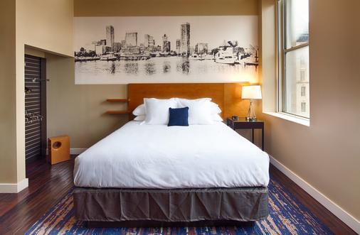 Hotel RL Baltimore Inner Harbor by Red Lion - Baltimore - 睡房
