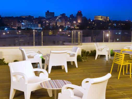 耶路撒冷丹精品酒店 - 耶路撒冷 - 阳台