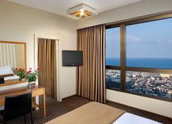 丹海法全景酒店 - 海法 - 睡房