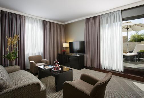 耶路撒冷丹全景酒店 - 耶路撒冷 - 客厅