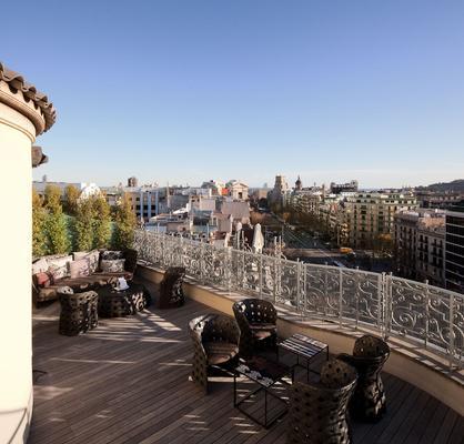 大华及水疗中心巴塞罗那酒店 - 巴塞罗那 - 阳台